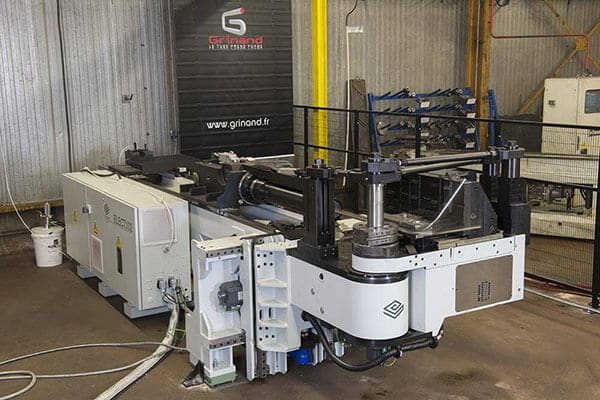 Grinand's new bending capabilities